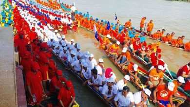 Cambodia Water Festival and Boat Racing